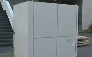 業務用空調機や機械部品の製作